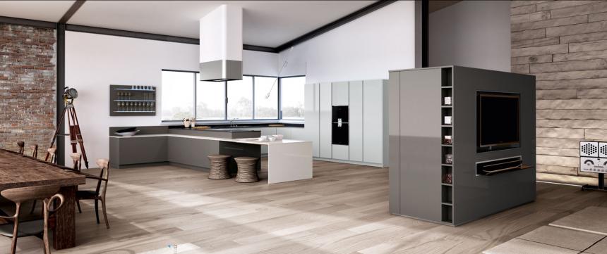 Luxe Keukenmerken : Dit merk biedt greeploze modellen en veel lakkleuren. Modern design