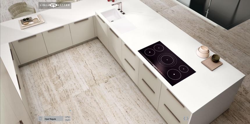 Moderne Italiaanse Keukens : Van Vliet Keukens - Linea Quattro van ...